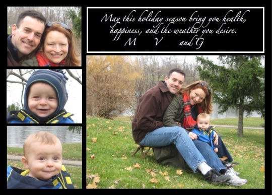 XMAS 2011 Card Back